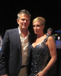 Grammy Winner David Foster with Sonja Morgan 2011