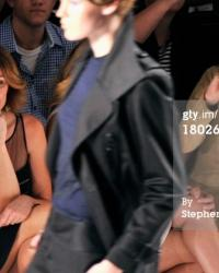 Sonja Morgan at Fashion Week